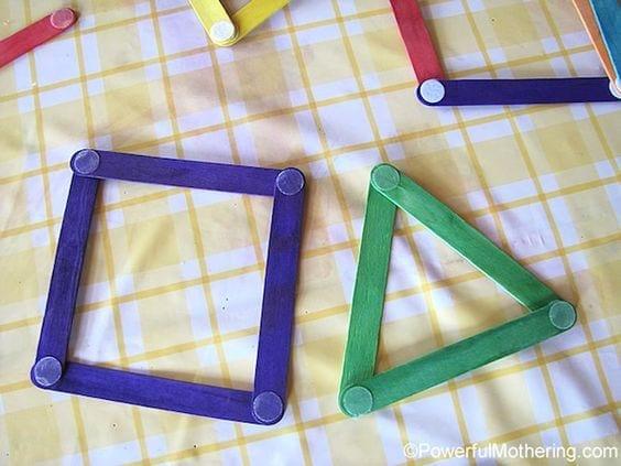 aprender figuras geometricas palitos de picole 3
