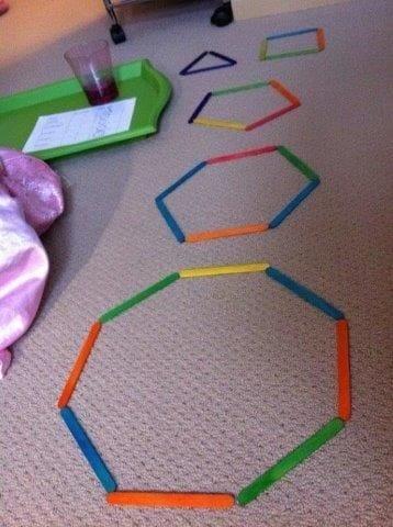 aprender figuras geometricas palitos de picole 5