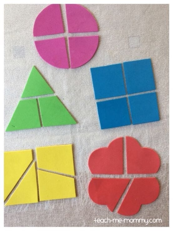 aprender figuras geometricas quebra cabeca