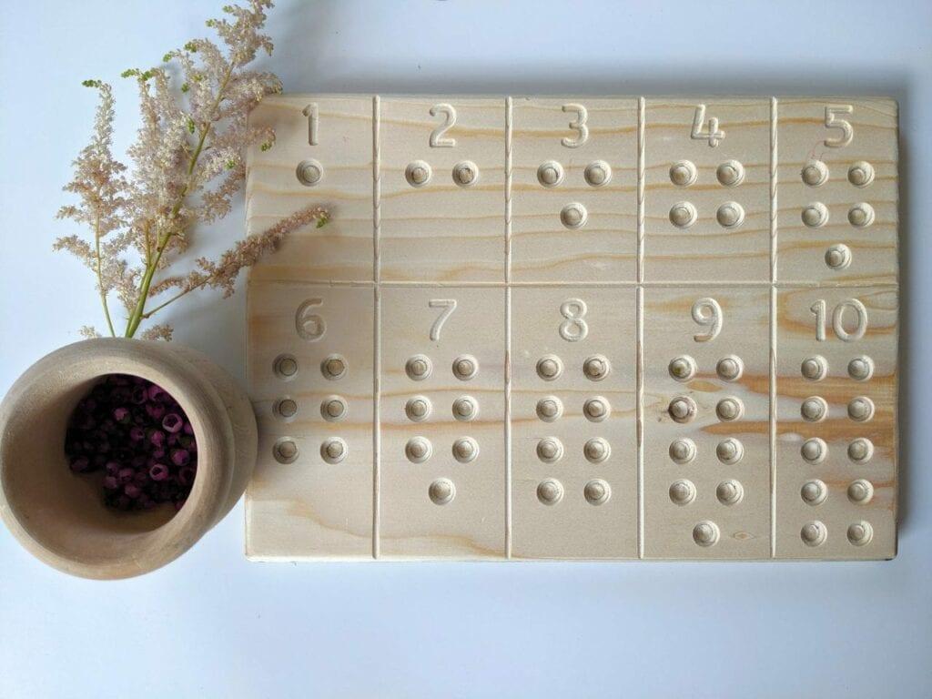 tabua de contar numeros com flores 02