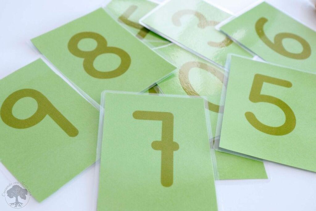 Como fazer numeros de lixa Montessori 02