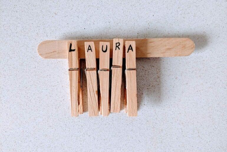 aprender as letras do nome proprio