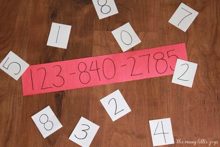 aprender numero de telefone 04