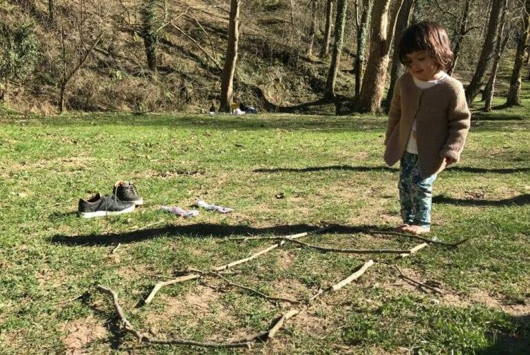 circuito infantil na natureza