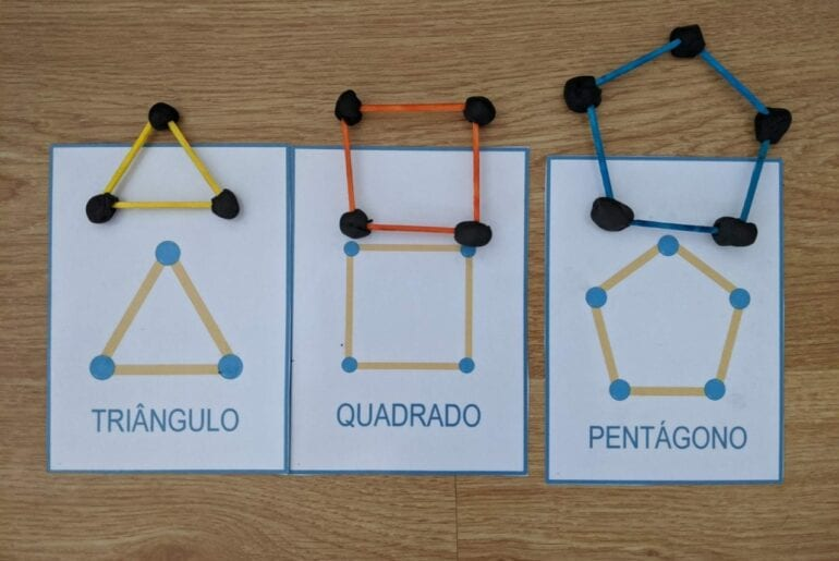 aprender figuras geometricas na educacao infantil