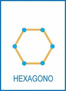 figuras geometricas na educacao infantil hexagono