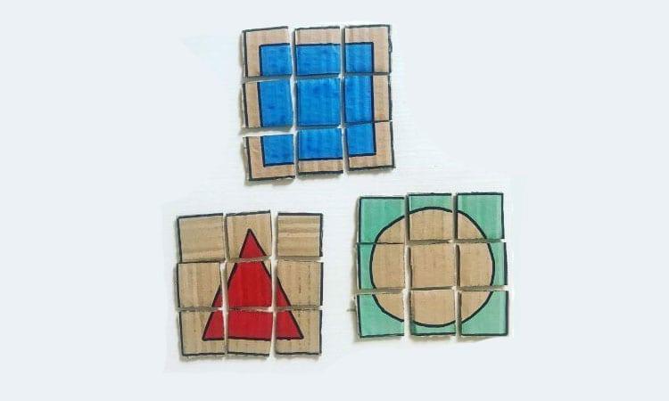 quebra-cabeca de formas geometricas