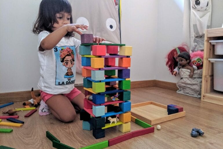 Ambiente que convida a brincar