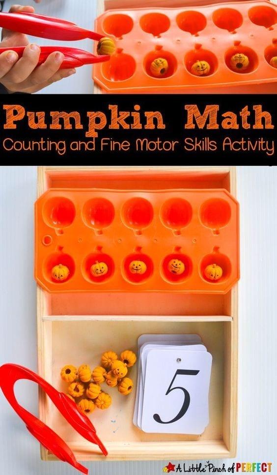 atividade de matematica do halloween