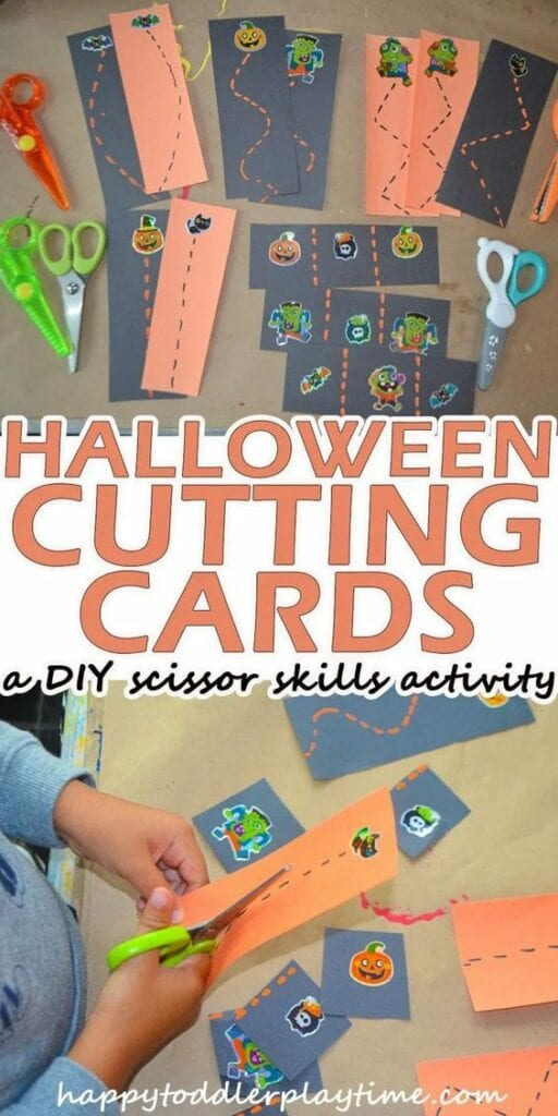 atividade do halloween para recortar