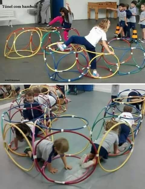 brincadeiras com bambole - tunel psicomotor