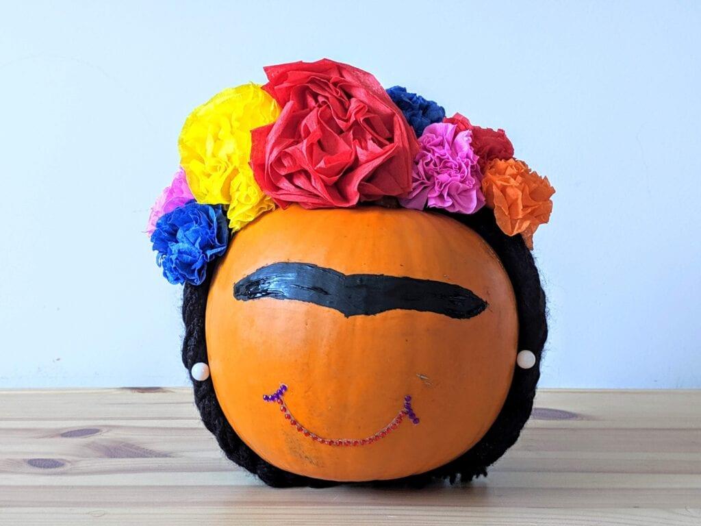decorar abobora de halloween