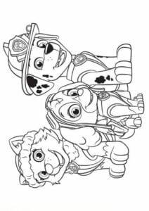 Desenhos para colorir Patrulha