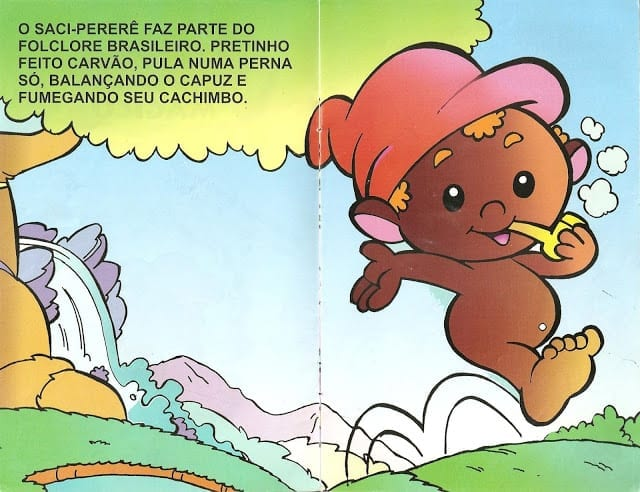 Lenda do Saci Pererê Ilustrada 03