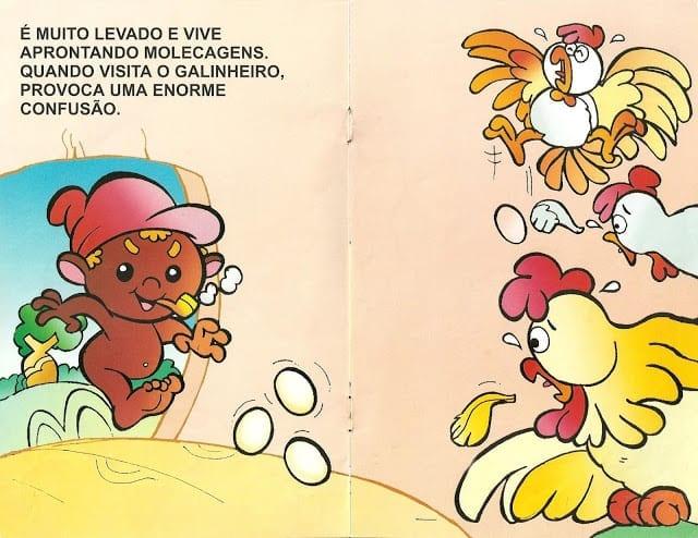 Lenda do Saci Pererê Ilustrada 04