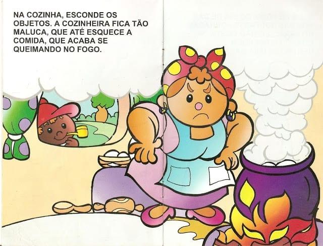 Lenda do Saci Pererê Ilustrada 06