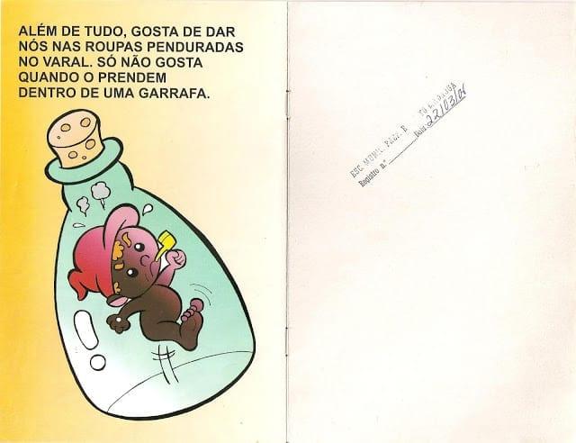 Lenda do Saci Pererê Ilustrada 07