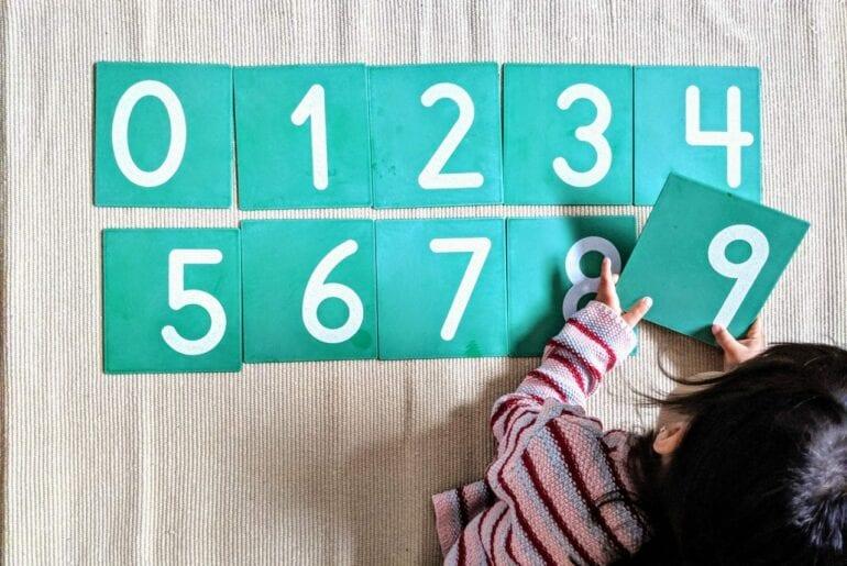 pedagogia montessori e o número 3