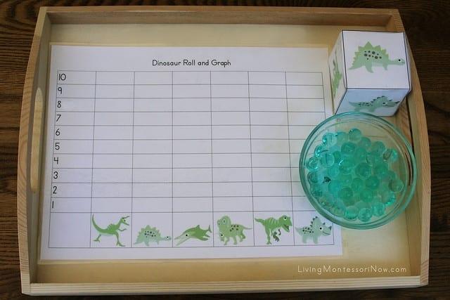 Atividades de matemática com dinossauros 03