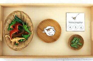 Atividades de matemática com dinossauros 04
