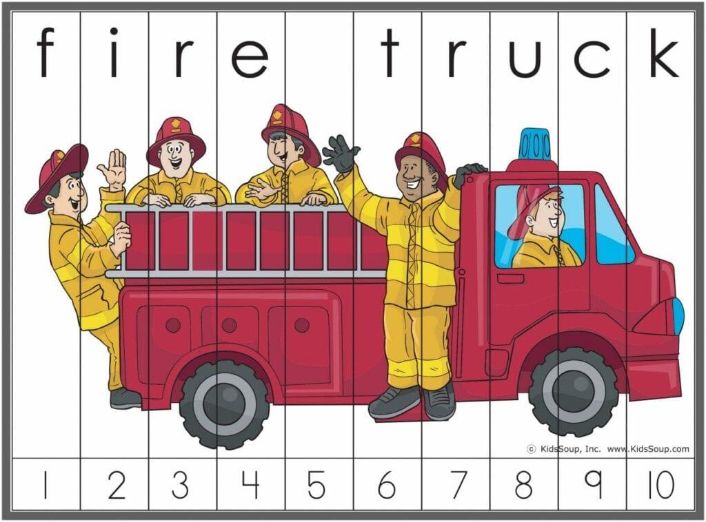 Atividades sobre bombeiro 11