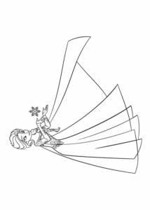desenhos da frozen 2 para pintar