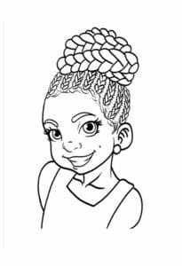 Desenhos Dia da Consciência Negra para colorir