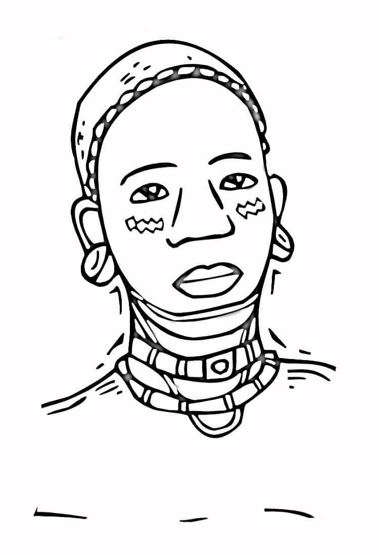 Imagens Da Consciencia Negra Para Colorir