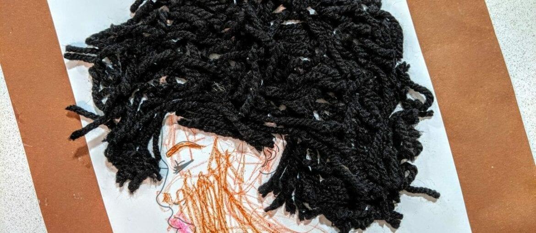 recriar cabelo afro com la