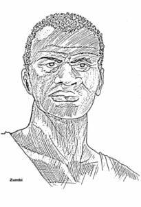 Zumbi dos Palmares Dia da Consciência Negra colorir