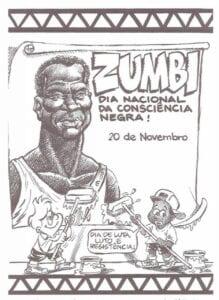 Desenhos de Zumbi dos Palmares para colorir