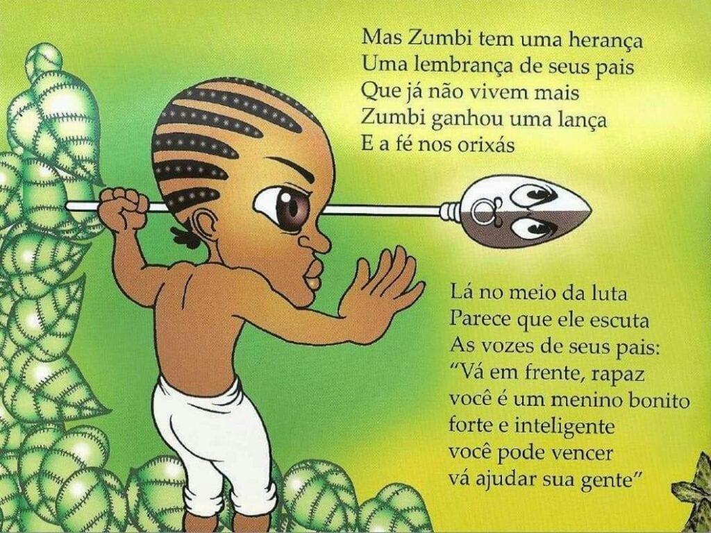 Zumbi o pequeno guerreiro 12