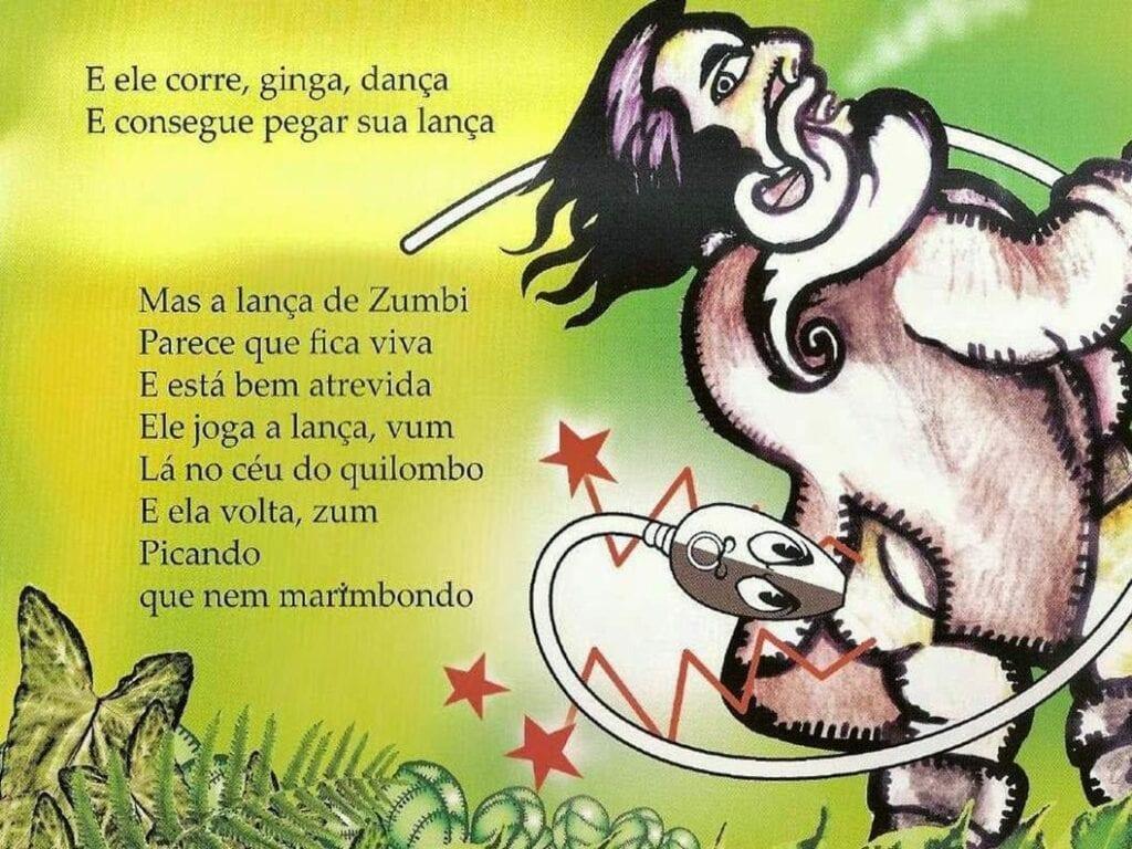 Zumbi o pequeno guerreiro 13