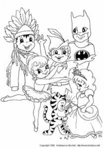 desenhos de carnaval faceis