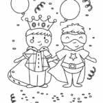 desenhos de carnaval para desenhar
