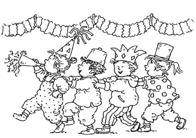 desenhos de carnaval