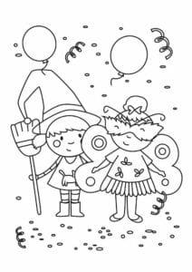 desenhos de fantasias de caranval