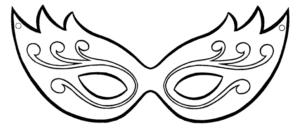mascaras de carnaval para imprimir 12