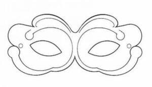 mascaras de carnaval para imprimir 16