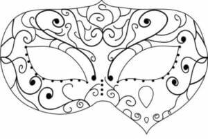 mascaras de carnaval para imprimir 20
