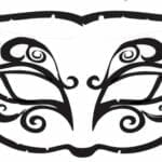 mascaras de carnaval para imprimir 38