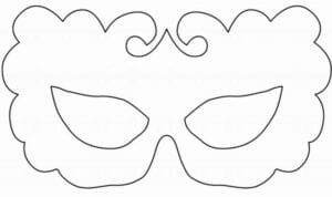 mascaras de carnaval para imprimir 9