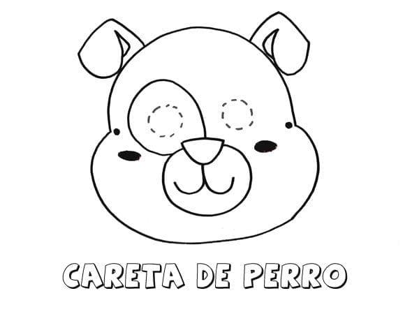 Mascaras De Carnaval Para Imprimir De Cachorro Criando Com Apego
