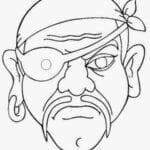 mascaras de carnaval para imprimir de pirata mau