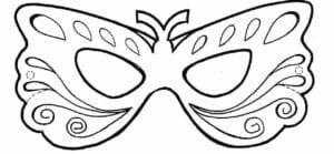 mascaras de carnaval para imprimir para artesanato