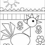desenhos com figuras geometricas para imprimir 17