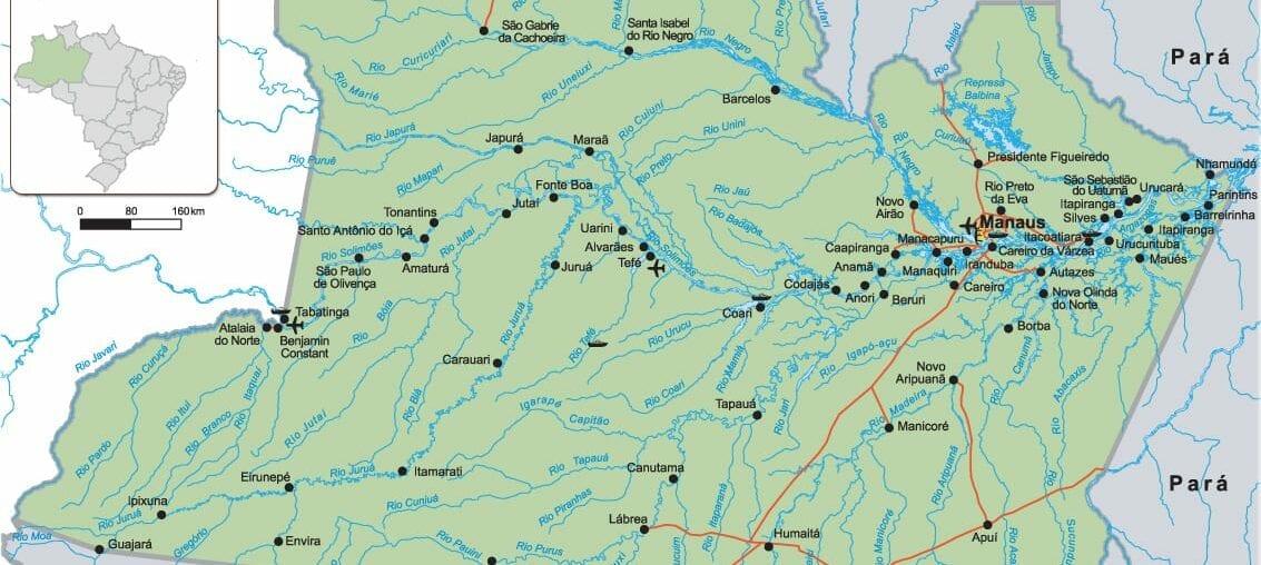 mapa do amazonas para imprimir