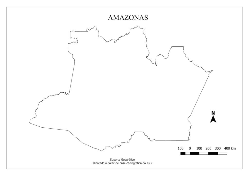 mapa do amazonas para imprimir e colorir