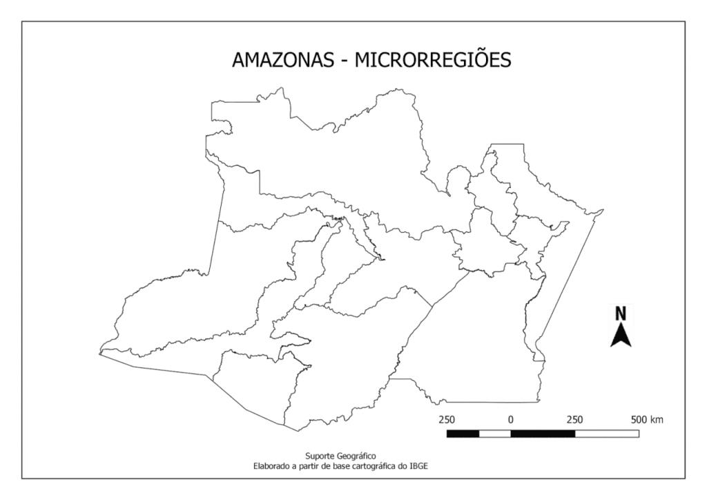 mapa do amazonas para imprimir microrregioes