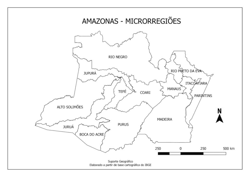 mapa do amazonas para imprimir microrregioes com nomes